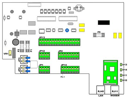SR2 Main Components - Schematic