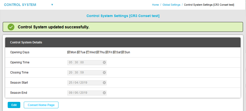 Control System Updated Successfully2