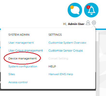 Device Management ARB