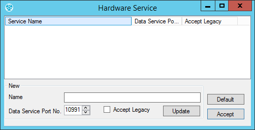 EMS Config - Hardware Services 1