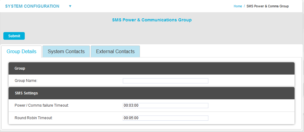 SMS Power and Comms Group