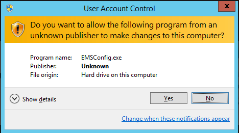 User Account Control Config Tool