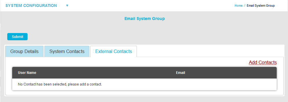 Email System Group External Contacts2